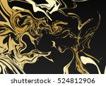 marble background. retro design.... | Shutterstock .eps vector #524812906