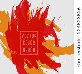 vector color brush   Shutterstock .eps vector #524823856