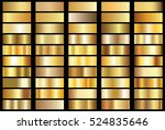 gold background texture vector... | Shutterstock .eps vector #524835646