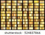 gold gradient background vector ... | Shutterstock .eps vector #524837866