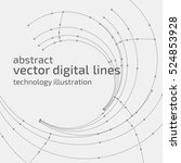 vector abstract background.... | Shutterstock .eps vector #524853928