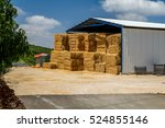 The Hay Storage Shed Full Of...