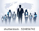 business people team crowd walk ... | Shutterstock .eps vector #524856742