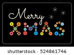 colorful illustration. greeting ...   Shutterstock . vector #524861746
