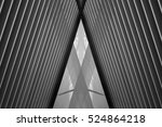 reworked photo of louvered... | Shutterstock . vector #524864218