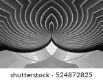 modern public building  ... | Shutterstock . vector #524872825