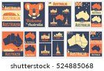 Vector Set Of Various Australia ...
