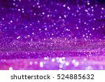 Purple Abstract Background Wit...