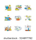 payment systems  online... | Shutterstock .eps vector #524897782