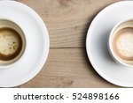 empty coffee on the table | Shutterstock . vector #524898166