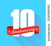 white 10th anniversary logo...
