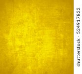 yellow grunge background | Shutterstock . vector #524917822