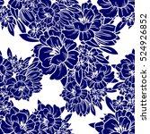 abstract elegance seamless... | Shutterstock .eps vector #524926852