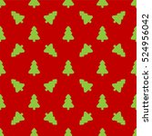 pattern for wrapping paper.... | Shutterstock .eps vector #524956042