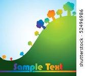 trees | Shutterstock .eps vector #52496986