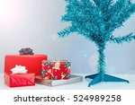 a close up shot of christmas... | Shutterstock . vector #524989258