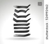 brush stroke and texture....   Shutterstock .eps vector #524992462
