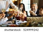 restaurant chilling out classy... | Shutterstock . vector #524999242