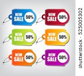 sale tag | Shutterstock .eps vector #525005302