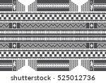 native american pattern... | Shutterstock . vector #525012736