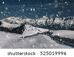 Ski Resort And The Mountains O...