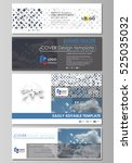 social media and email headers... | Shutterstock .eps vector #525035032