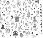 Christmas Decorations Doodle...