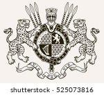vector heraldic illustration in ...