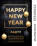 party december new year winter... | Shutterstock .eps vector #525104212