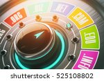 domain name choice concept....   Shutterstock . vector #525108802