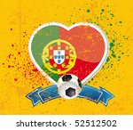 portugal football sign | Shutterstock .eps vector #52512502