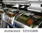 large printer format inkjet... | Shutterstock . vector #525141808