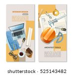 vertical flat banners with... | Shutterstock .eps vector #525143482
