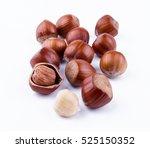 hazelnuts | Shutterstock . vector #525150352