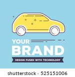 vector creative illustration of ... | Shutterstock .eps vector #525151006