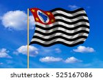 brazilian state of sao paulo... | Shutterstock . vector #525167086