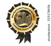 best real estate project of the ... | Shutterstock .eps vector #525178456