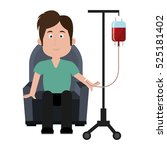 blood donation isolated icon   Shutterstock .eps vector #525181402