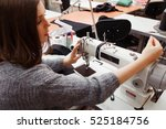 seamstress tuning sewing... | Shutterstock . vector #525184756