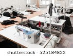 interior of garment factory... | Shutterstock . vector #525184822