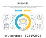 flat line illustration of... | Shutterstock .eps vector #525192928