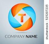 letter t vector logo symbol in... | Shutterstock .eps vector #525207235