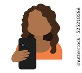hand human with smartphone | Shutterstock .eps vector #525210286