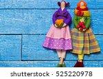 Two Handmade Doll Girl Tilda O...