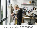 fashion designer stylish... | Shutterstock . vector #525230368