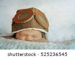 sweet little baby dreaming of... | Shutterstock . vector #525236545