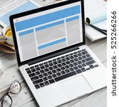 web design template copy space