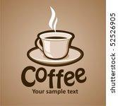 coffee | Shutterstock .eps vector #52526905