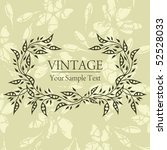 vintage background | Shutterstock .eps vector #52528033