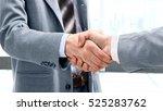 closeup of a business handshake   Shutterstock . vector #525283762